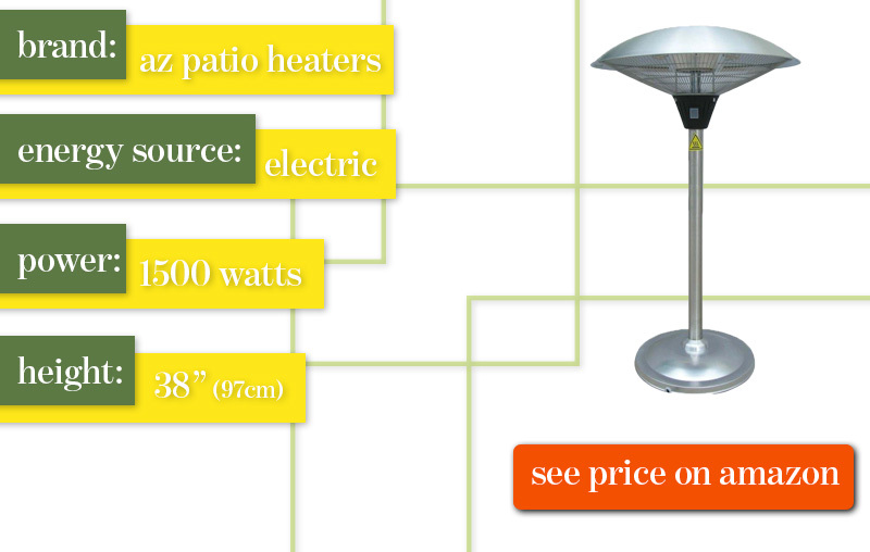 Best Outdoor Patio Heater AZ Patio Heaters Review
