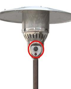 Best outdoor patio heater adjustable heat