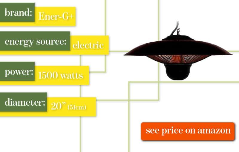 Best Outdoor Patio Heater Ener-G+ Hanging Review