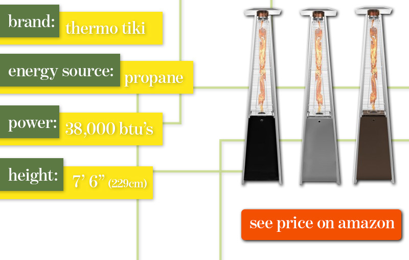 Best Outdoor Patio Heater Thermo Tiki Review