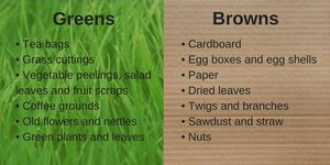 compost greens and browns