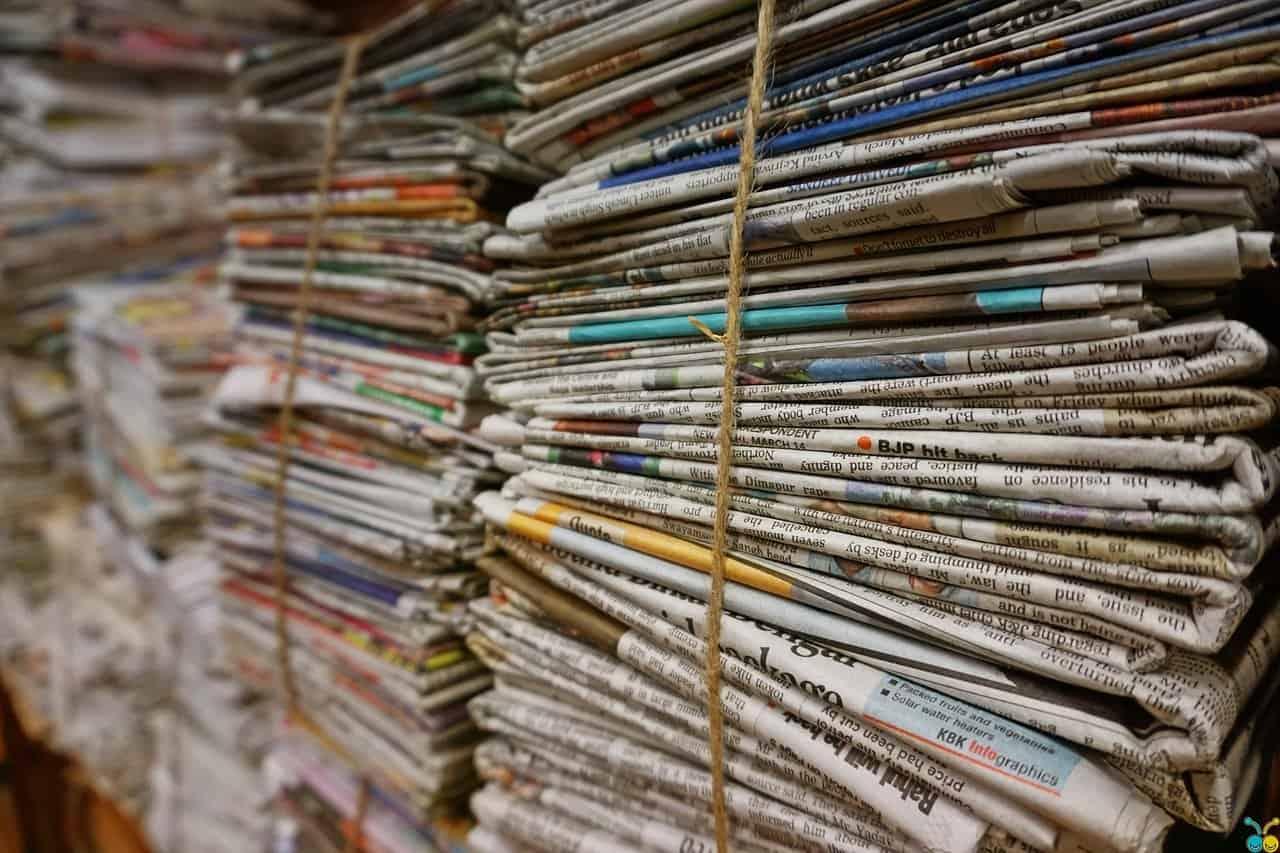 soy based ink newspaper compost