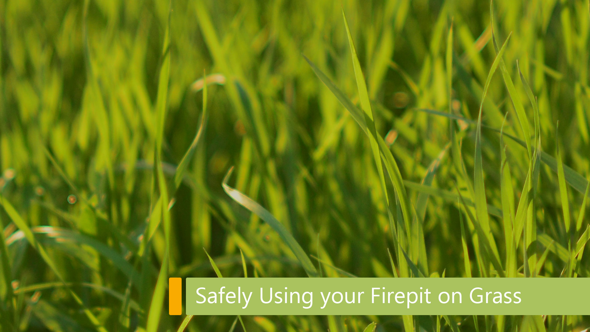 safely using your firepit on grass main image