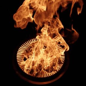 solo stove double burn effect