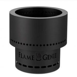 flame genie stock photo