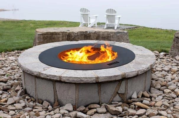 best smokeless fire pit insert breeo zentro