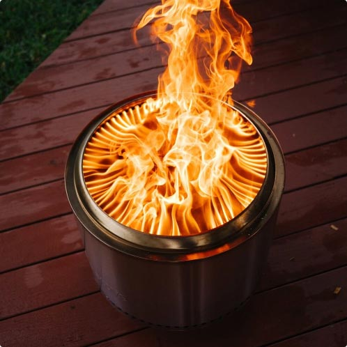 solo stove bonfire secondary burn