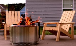 best smokeless fire pit stainless steel solo stove