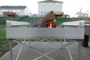 fireside outdoors campfire fire pit grill height